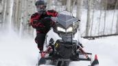 Снегоход Polaris 600 Rush PRO-S 2015 В движении