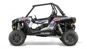 Мотовездеход Polaris RZR XP 1000 EPS 2015 White Вид сбоку