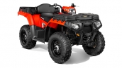 Polaris Sportsman X2 550 EPS Indy Red Общий вид